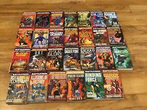 Lot of 27 Battletech (Mechwarrior) Paperback Novels Books - Stackpole Thurston