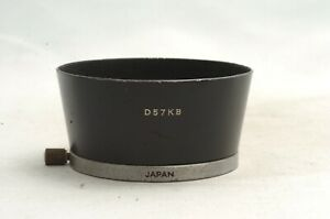 @ Ship in 24 Hrs @ Minolta D57KB Lens Hood for Auto Rokkor 55mm f1.8 & 58mm f1.4