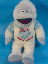 Bumble the ABOMINABLE SNOW MONSTER Large Plush Stuffed Animal RUDOLPH Friend 17""