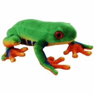 """Green Tree Frog Soft Toy 8""""/20cm by Elka"""