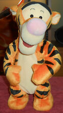 "1998 Disney Mattel Tigger Talking Bouncing Plush 12"" Tall TESTED WORKS"