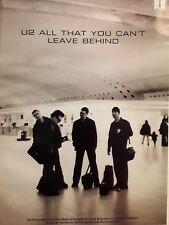 U2 - All That You Can'T Leave Behind- Guitar, Voice - Tab & Notation