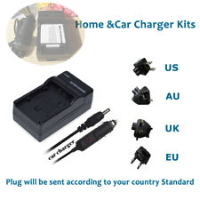Battery Charger for Pentax D-LI68 D-LI22 Pentax Optio A36 S10 S12 VS20 Q-S1 Q10