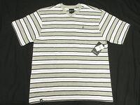 $28 NWT NEW Mens Akademiks T-Shirt Alden Striped V-Neck Tee Size 4XL 4XB 4X N145