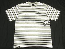 $28 NWT NEW Mens Akademiks T-Shirt Alden Striped V-Neck Tee Size 3XL 3XB 3X N145
