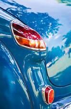 Leinwand Oldtimer Opel Kapitän Heckflosse Rücklicht Car