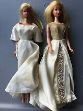 New Listing2 Vintage Barbie With Clothes