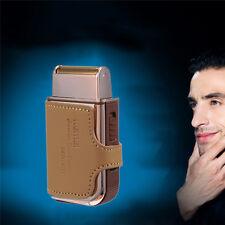 Hot Electric Shaver Rechargeable Men's Shaver Razor Shaving Machine Leather Case