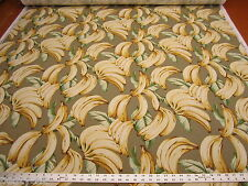 Tommy Bahama Top Banana color Bleached Sand cotton print fabric fc560
