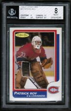 1986 87 OPC O Pee Chee #53 Patrick roy Rc Rookie BGS 8 NM-Mint