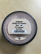 2 X Bare Minerals Original SPF 15 Loose Powder Foundation 8g bareMinerals Fair (c10) Mineral Veil