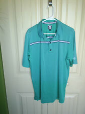 FOOTJOY  ATHLETIC FIT   LARGE     YELLOWSTONE CLUB     96 /POLY  4/SPANDEX
