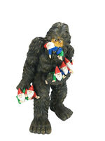 "Large Miniature Bigfoot and Gnomes for the Fairy Garden. Large Garden Gnome 13""H"