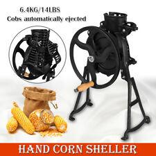 Iron Manual Corn Thresher Hand Shake Corn Sheller Stripping Machine Not Antique
