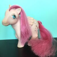 My Little Pony MLP G1 Vtg Vintage Heart Throb Wings Pink Pegasus Glitter Hearts