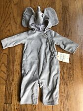New! Pottery Barn Kids Baby Elephant Halloween Costume 6-12 Months