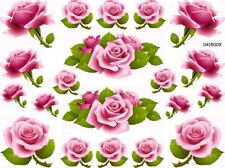 ThE BeSt PinK CaBbaGe RoSeS ShaBbY WaTerSliDe DeCals #2