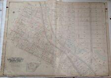 Orig 1903 E. Belcher Hyde Long Island City Queens Nyc Atlas Map Plat