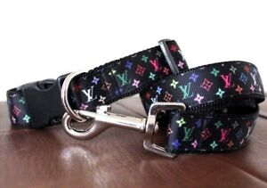 Collarcraft Diamond Flash Star Dog Collar and Lead Set Puppy French Bulldog