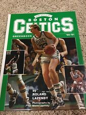 1990 BOSTON CELTICS Greenbook Larry Bird Cover