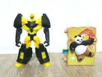 McDonalds Transformer Bumblee Bee Kung Fu Panda Happy Meal Promotional Toy 2016