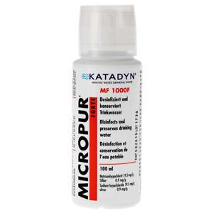 Micropur Forte MF 1000F Katadyn Wasseraufbereitung Konservierung Outdoor Wasser