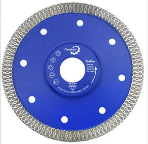 "Classicpro Angle Grinder Tile Porcelain Diamond Disc Cutting Blade 125mm 4.5"" UK"