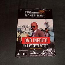 COMMISSARIO MONTALBANO (CAMILLERI) UNA VOCE DI NOTTE (DVD) *Inedito Nuovo*