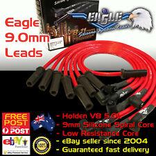 RED EAGLE 9.0mm IGNITION SPARK PLUG LEADS Fits Commodore V8 253 308 VN-VT 88-00