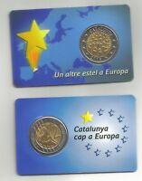 Moneda 2 Euro blister prueba de Catalunya 2015 Cataluña