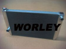 2 core aluminum radiator for FORD Falcon XC XD XE XF V8 or 6 cylinder manual