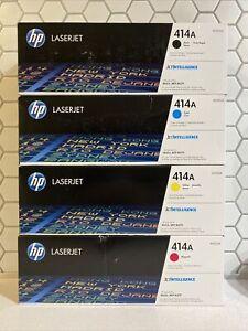 NEW GENUINE - HP 414A FULL SET TONER - W2020A-W2023A - M454, M479 - SEALED BOXES