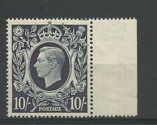 1939/48 Sg 478, 10/- Dark Blue, Unmounted Mint.