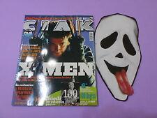 CIAK n.11 del 2000 CON SCHEDE FILM e MASCHERA DI SCARY MOVIE In copertina X-MEN
