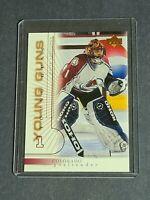 David Aebischer Colorado Avalanche Rookie 2000-01 Upper Deck #433 Young Guns YG