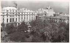 Santiago Chile panoramic view Plaza de Armas real photo pc Z42390