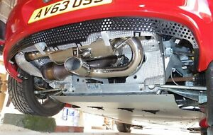 Lotus Elise / Exige S2 Rear Exhaust Stainless Cup NEW 2ZZ great sound.