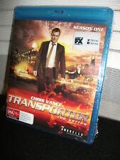 Transporter  Season One (Chris Vance)  Blu-ray  -- (3 disc set) Region B -- NEW
