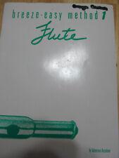 "Breeze-Easy Method Music Book 1 ""Flute"" Free Ship"