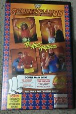 WWE WWF Summerslam 1990 ex-rental VHS TAPE (Hulk Hogan / wrestling) rare