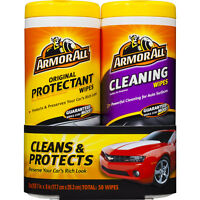 ArmorAll Car Interior Protectant and Cleaning Wipes KIT, Great for the whole car