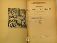SCIENZA - O. Uffreduzzi: Trattato di Patologia Chirurgica 2 VOLL. - UTET 1944