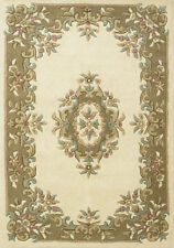 Traditional-Persian/Oriental Floral Hand-Tufted Rugs