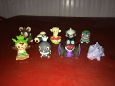 Nintendo Pokemon PVC Finger Puppets Figure Lot - 9 Total Figures