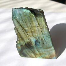 Cut Base Face Polished Labradorite Crystal  160g