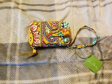 Vera Bradley Carry It All Wristlet - PROVENCAL (yellow/red) 100% Authentic NWT