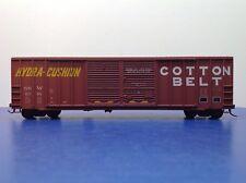 """HO Scale """"Cotton Belt - Hydra Cushion"""" SSW 61795 50' Freight Train Box Car"""