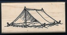 CAMPING PUP TENT Stakes sporting good ECCENTRICKS 1997 G-2649 Hobby Rubber Stamp