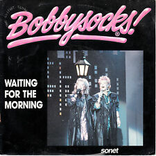 "7"" 45 TOURS FRANCE BOBBYSOCKS ""Waiting For The Morning / Working Heart"" 1986"