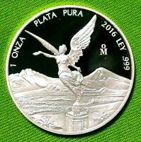 2016 1 oz Silver Libertad PROOF ! 1 Onzas Plata Pura! Mexico Mint 13,250 Only !!